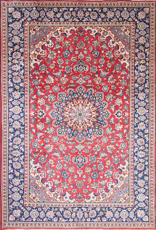 8x12 Isfahan Persian Area Rug