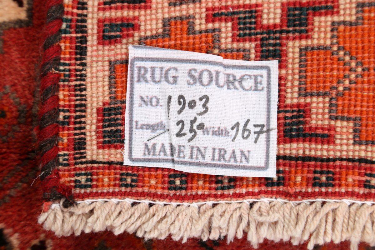 Geometric Tribal 5x8 Shiraz Abadeh Persian Area Rug