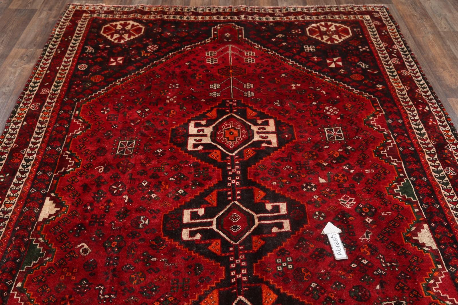 7x10 Shiraz Persian Area Rug