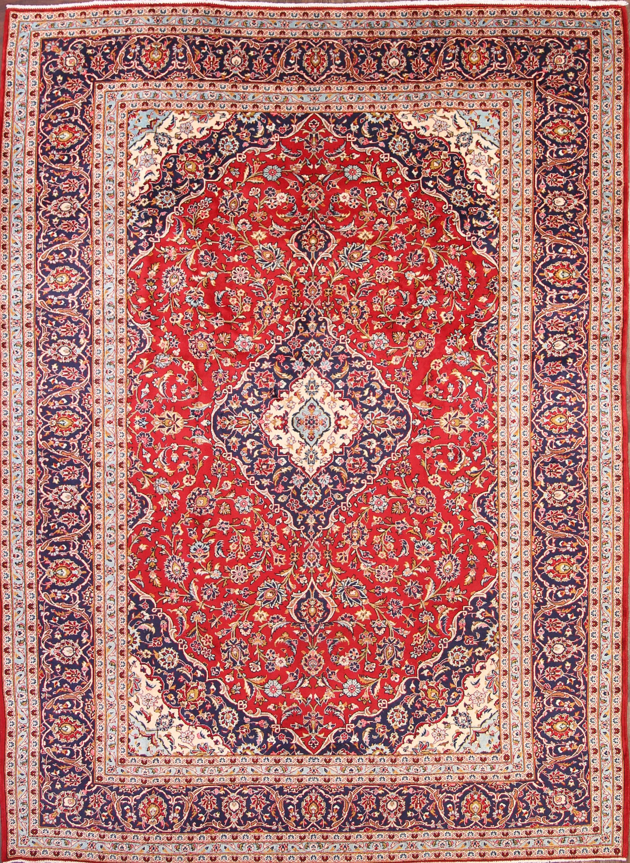 10x13 Kashan Persian Area Rug
