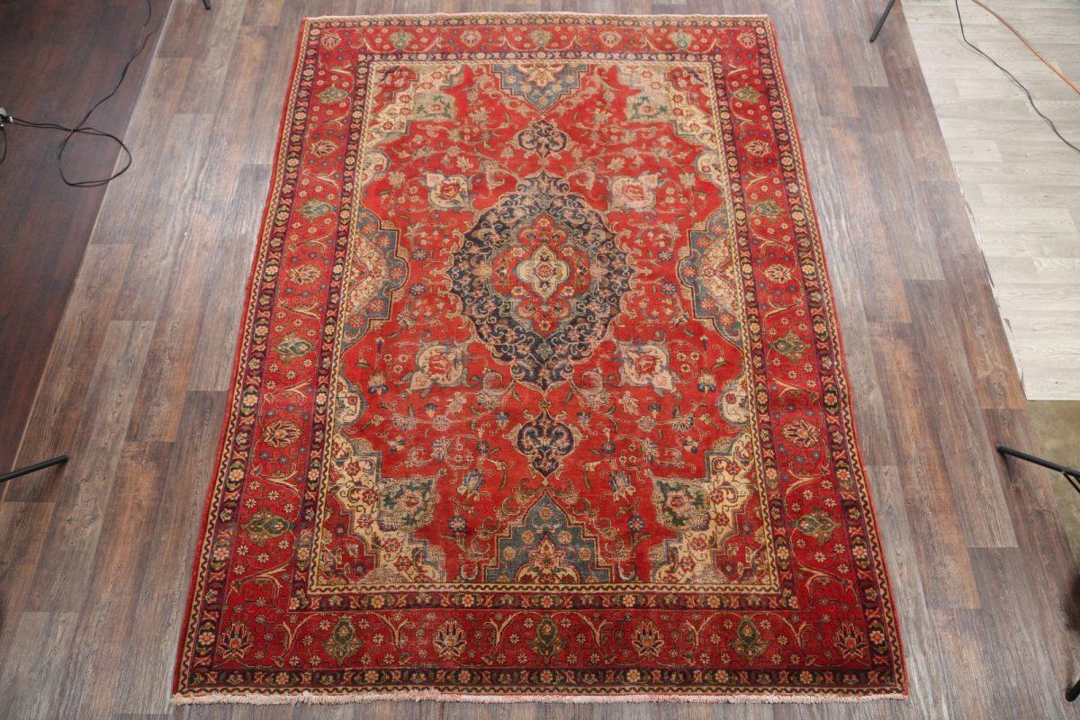 8x11 Tabriz Persian Area Rug