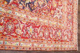 8x11 Kashan Persian Area Rug