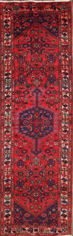 3x10 Hamadan Persian Rug Runner
