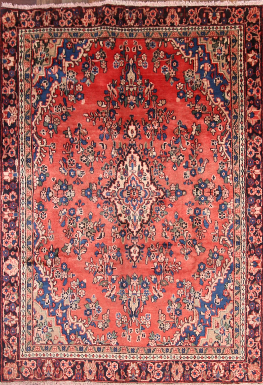 6x9 Hamadan Persian Area Rug
