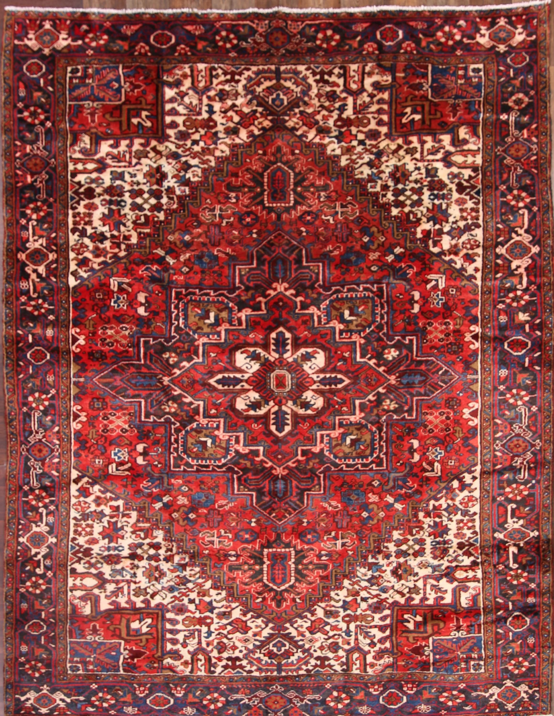 9x12 Heriz Persian Area Rug