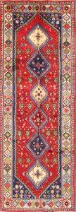 Geometric Tribal 3x9 Yalameh Persian Rug Runner