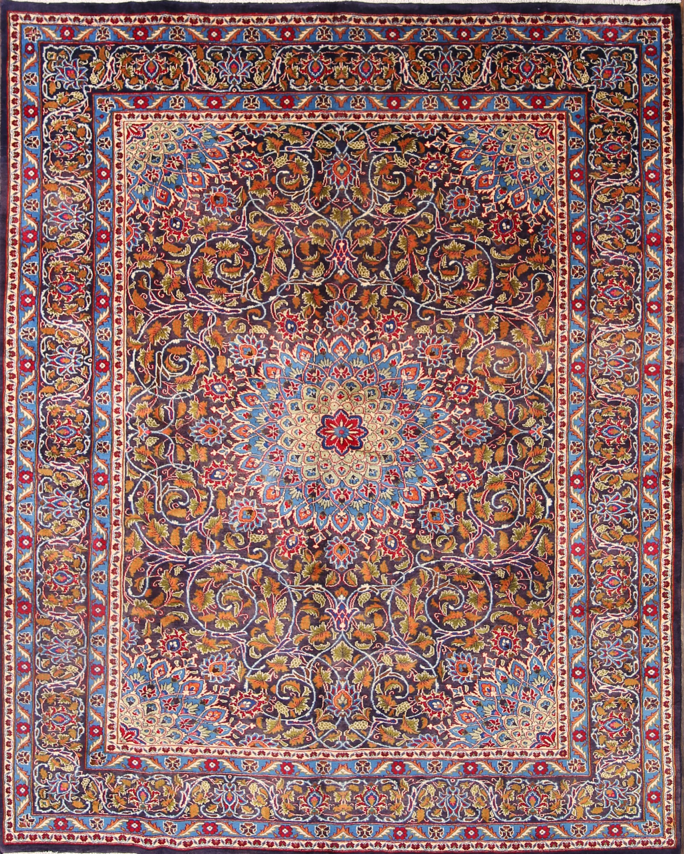 8x11 Mashad Persian Area Rug