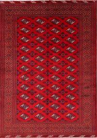 7x10 Balouch Bokhara Turkoman Persian Area Rug