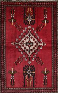 4x6 Balouch Ferdos Persian Area Rug