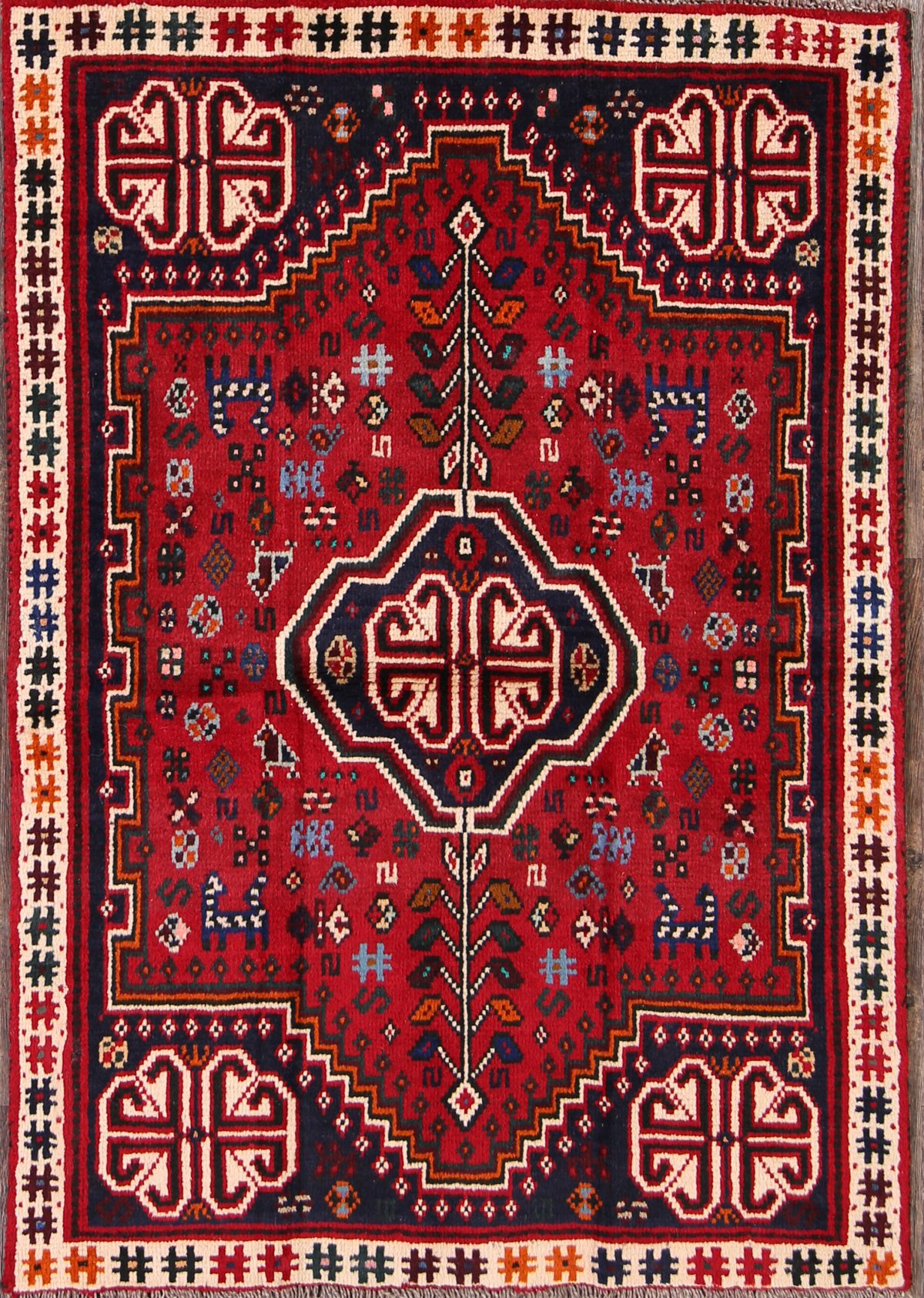 3x5 shiraz persian area rug