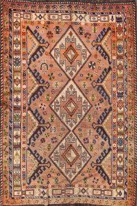 5x7 Kazak Russian Oriental Area Rug