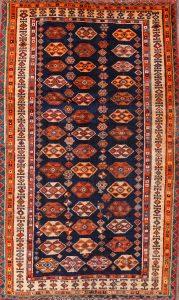 5x8 Gabbeh Kashkoli Persian Area Rug