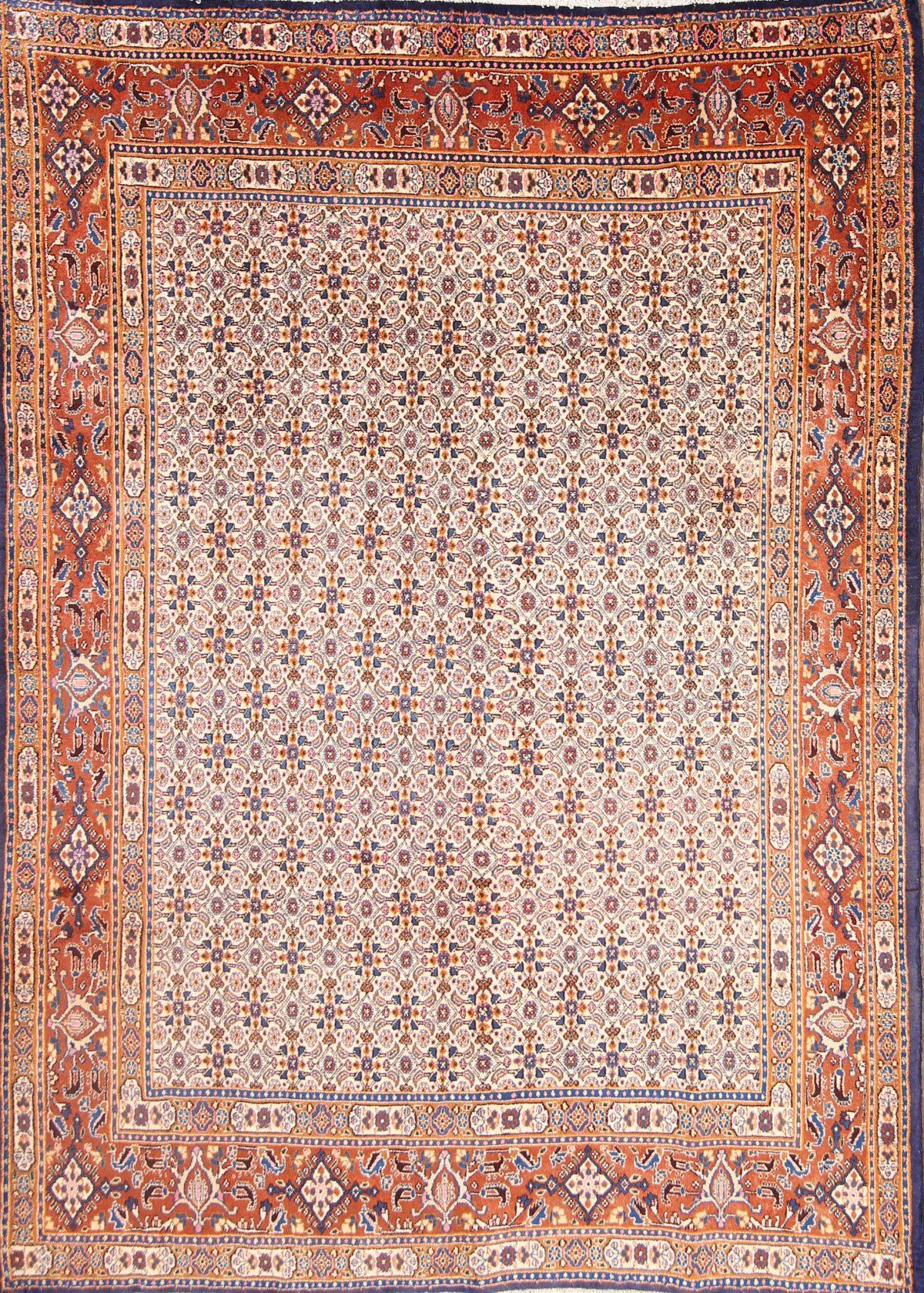 7x9 Ardebil Persian Area Rug