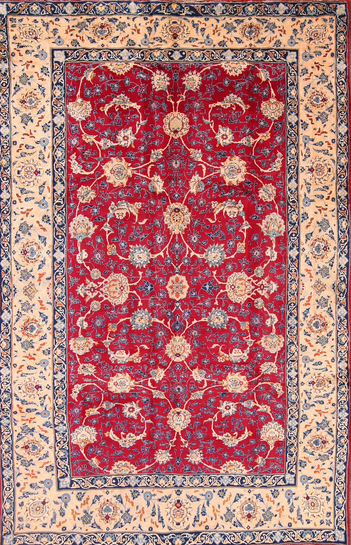 7x10  Isfahan Nain Persian Area Rug