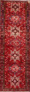 4x11 Gharajeh Heriz Persian Rug Runner