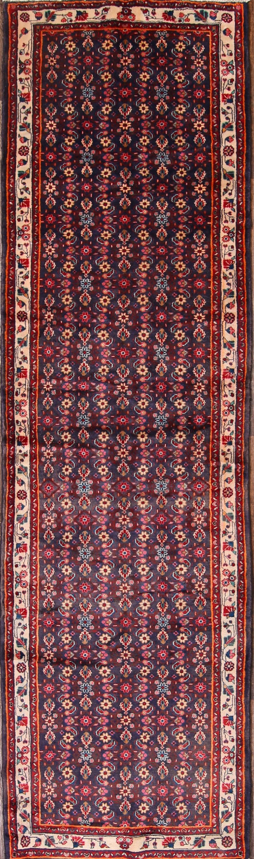 4x13 Hamedan Persian Rug Runner