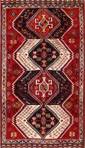 4x7 Shiraz Abadeh Persian Area Rug
