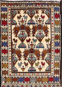 2x3 Malayer Persian Area Rug