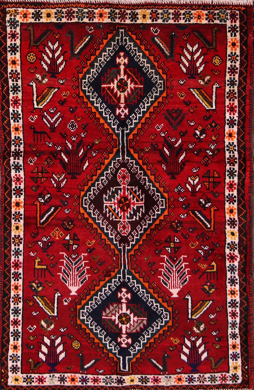 3x5 Shiraz Persian Area Rug