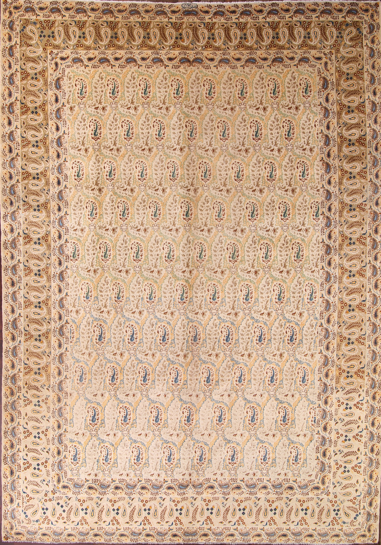11x16 Paisley Kashan Persian Area Rug