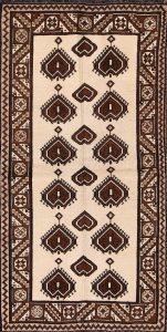 4x7 Gabbeh Shiraz Persian Area Rug