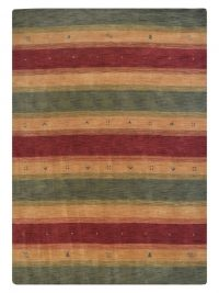 Gabbeh Lori Hand Knotted Oriental Area Rug