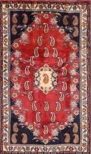 4x7 Abadeh Shiraz Persian Area Rug