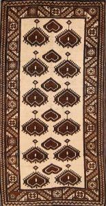 4x7 Gabbeh Persian Area Rug