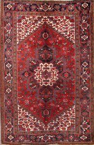 6x9 Heriz Persian Area Rug