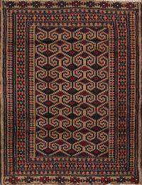 3x4 Balouch Persian Area Rug