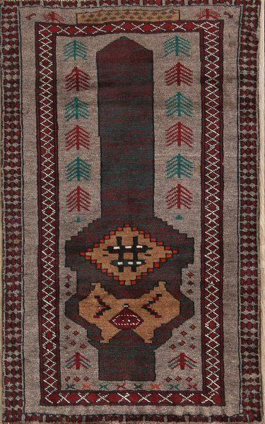 2x4 Balouch Persian Area Rug