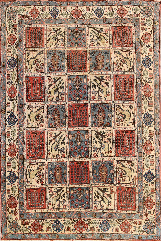 5x7 Qum Persian Area Rug