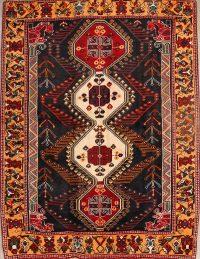 5x7 Gabbeh Shiraz Persian Area Rug