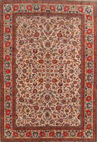 8x12 Kashan Persian Area Rug