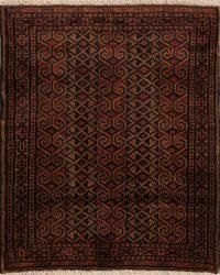 3x4 Bokhara Turkoman Persian Area Rug