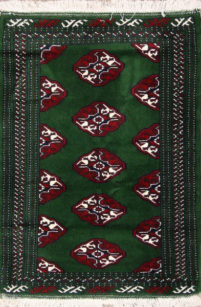 3x4 Turkoman Persian Area Rug