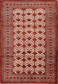 3x4 Turkoman Persian Area Rug