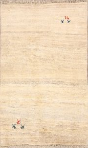 3x4 Gabbeh Shiraz Persian Area Rug