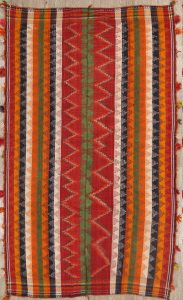 5x8 Kilim Shiraz Persian Area Rug