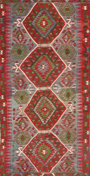 5x10 Kilim Russian Oriental Area Rug