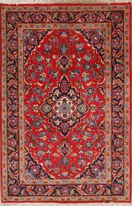 3x5 Kashan Persian Area Rug