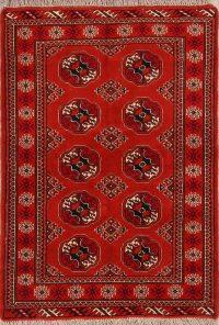 3x5 Balouch Turkoman Bokhara Persian Area Rug