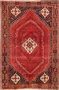 5x8 Kashkoli Shiraz Persian Area Rug