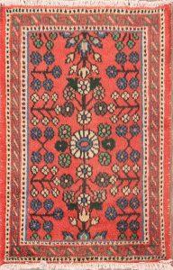 2x3 Lilian Hamedan Persian Area Rug