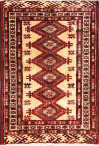 2x3 Bokhara Turkoman Persian Area Rug