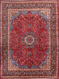 10x13 Mashad Persian Area Rug