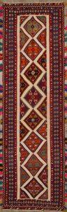 5x15 Kilim Kashkoli Persian Rug Runner