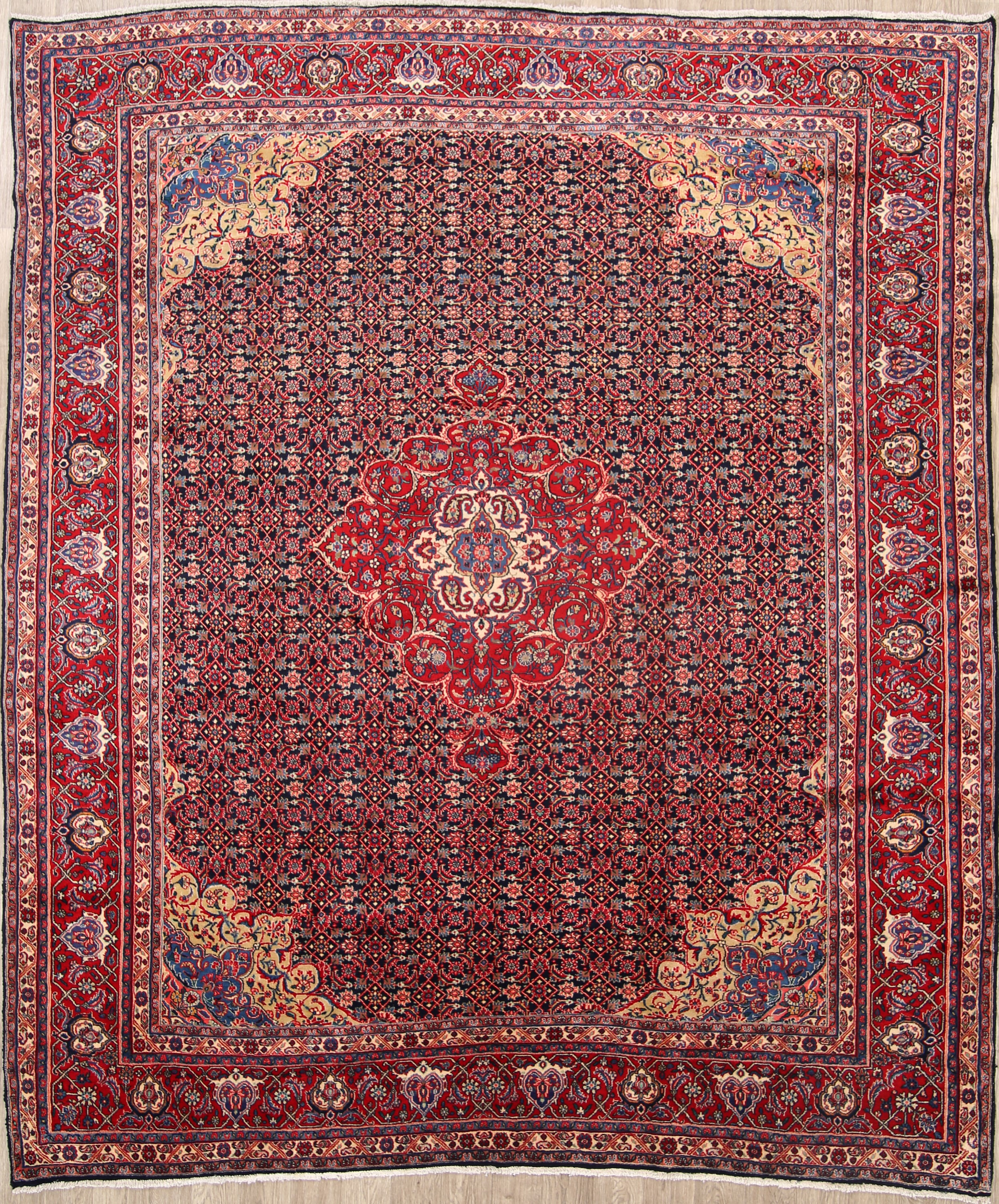Persian Rugs From Iran: 9x12 Bidjar Persian Area Rug