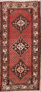 2x5 Hamedan Persian Rug Runner