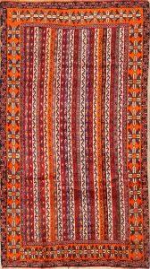 4x8 Kashkoli Shiraz Persian Area Rug